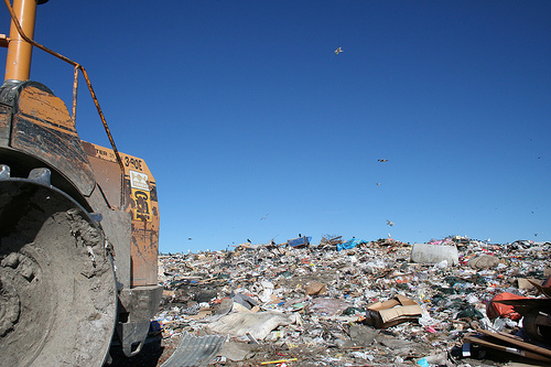 Spy Hill landfill. Flickr photo from D'Arcy Norman. CC.
